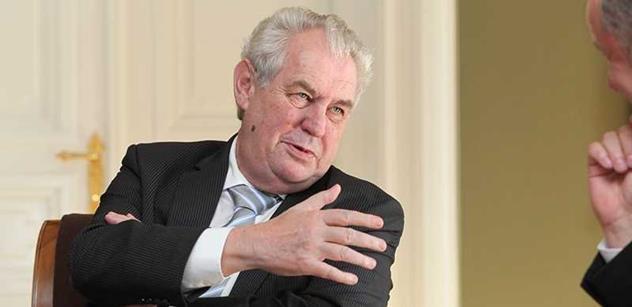 Zeman před návštěvou Srbska vzpomíná, co mu slibovali lidé z NATO před bombardováním