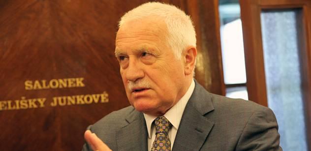 Bývalá pravicová politička promlouvá o Klausovi a těch dalších