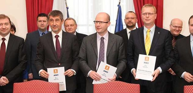 Ministři Sobotkovy vlády před posledním zasedáním bilancovali. Herman se pochválil za vyřešení případu vepřínu v Letech