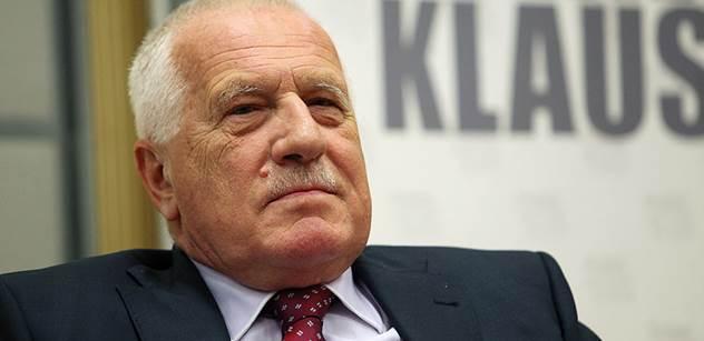 Václav Klaus byl ve Švédsku a vyvolalo to veliký rozruch v nejvyšších kruzích. Švédských i našich