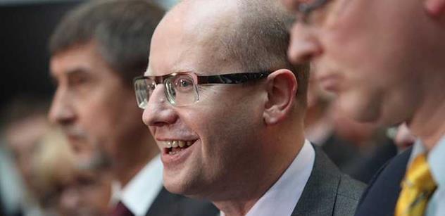 Sobotka: Tři týdny po jmenování požádá vláda o důvěru