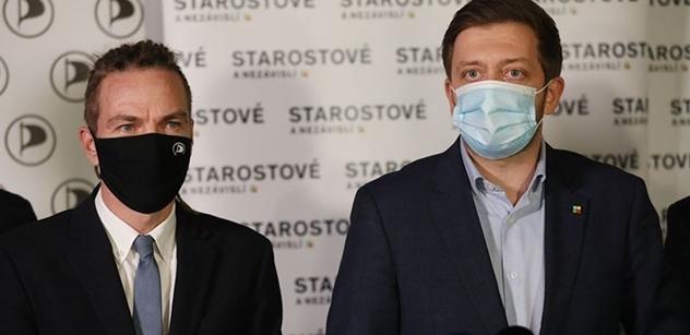Rakušan chce řídit vnitro, premiéra nechá Bartošovi. Nejsme antibabiš, ujišťuje