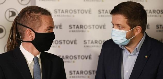 """""""Kdě máte premiéra, toto není premiér Česka. Čo? Čo to má na hlave?"""" Rakušan s Bartošem se v Bratislavě postarali o mezinárodní faux pas. Ještě teď se o něm mluví"""