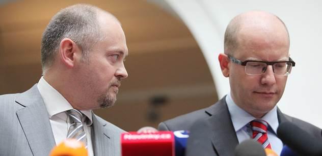 Hašek, Tejc a Škromach v mé vládě nebudou, rozpálil se šéf ČSSD