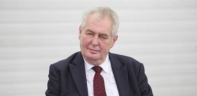Den vítězství oslaví prezident Miloš Zeman poprvé po dvou letech na ruské ambasádě
