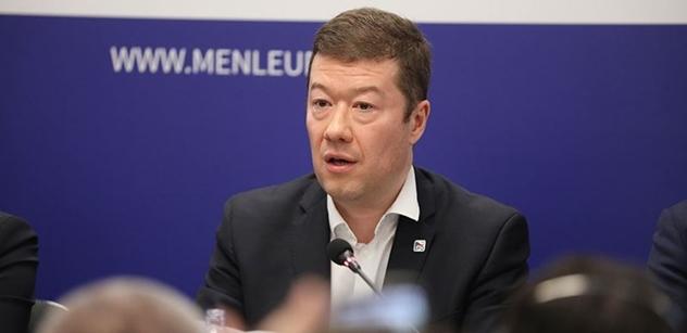 Okamura (SPD): NATO s Tureckem je paskvil, navrhněme jeho vyloučení