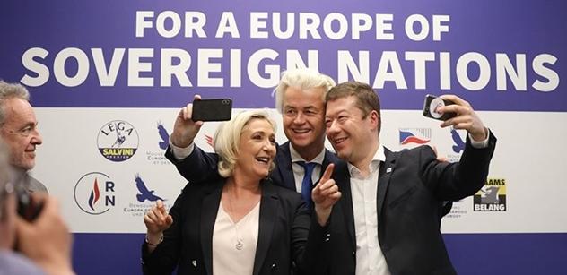 Okamura (SPD): Tak tohle Merkelová pozvala do Evropy. Jen se podívejte