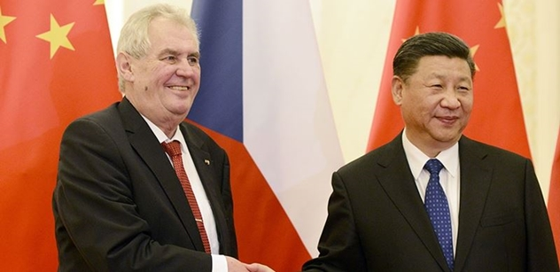 Zeman gratuloval Si Ťin-pchingovi. Přimluvil se za další rozvoj vztahů