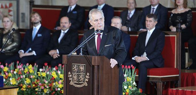 Petr Bílek: Miloš Zeman je pionýrem nové doby