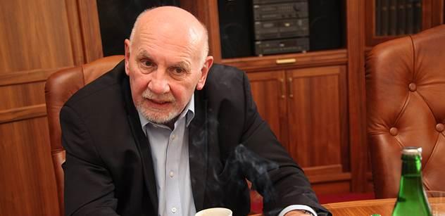 Pavel Rychetský promluvil o procesu Davida Ratha. Obžalovaný může být potěšen