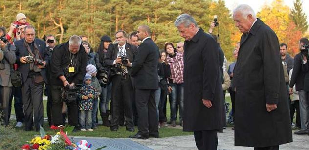 Německý prezident promluví na univerzitě a zavítá do Terezína