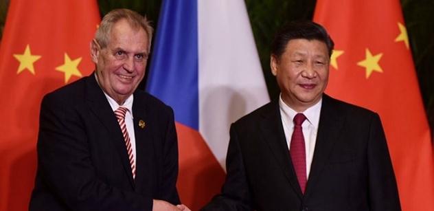 Číny se nemusíme bát, tvrdí Hrad