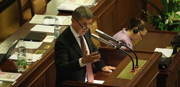 Ministr Babiš: Divadlo nehraji a nedělám ani politiku. Říkám jen to, co si myslím
