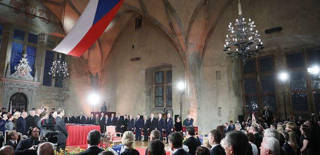 Hrad: Prezident republiky udělil státní vyznamenání