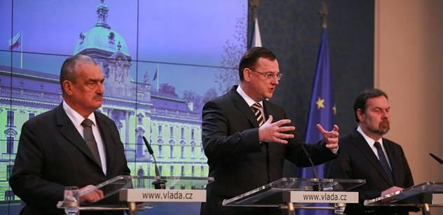 Vláda projedná návrhy na změnu rozpočtových pravidel