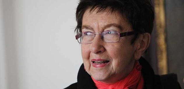 Jiřina Šiklová promluvila: Islámský stát jako nacistické SS, nevzdělaní komunističtí Češi…A Zemanova prognóza? Těžké poškození mozku