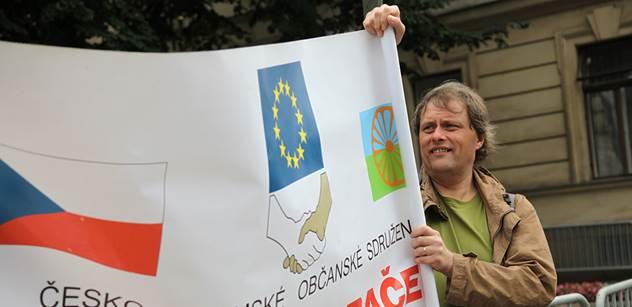 V Ostravě protestovaly stovky lidí proti rasismu