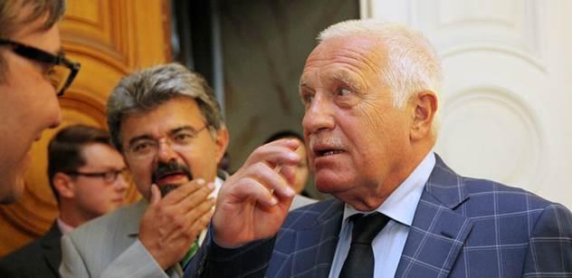 Podle exprezidenta Klause není ukrajinská krize důsledkem vnější agrese
