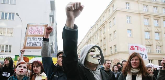 Šéf olomouckých pirátů: ODS by za útok Anonymous měla být vděčná