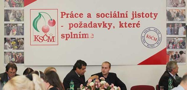 KSČM by měla nabídnout členství svým kolegům z jiných stran, píše Stropnický