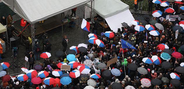 Nácíčkové, koblihožrouti. Milion chvilek pro demenci, ambasáda USA. Česko si nadává za Staromák