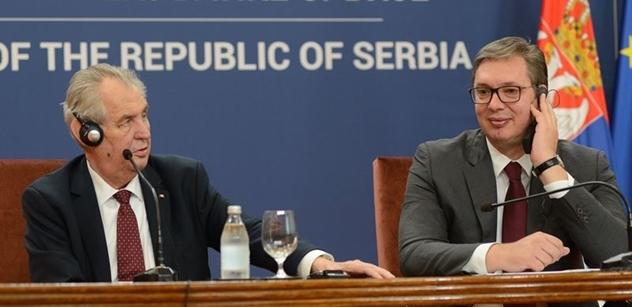 To by Schwarzenberg nedostal: Prezident Zeman obdrží nejvyšší vyznamenání