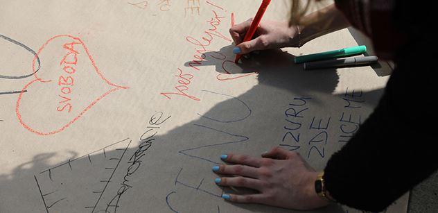 Studentský protest bez podpory politických stran? Brněnská TOP 09 se přiznala, že v tom měla prsty. Když na to upozornil bloger, začal kravál