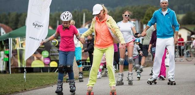 Lipno Sport Fest začíná v sobotu 15. srpna: Sportujte s českými olympioniky a známými sportovci
