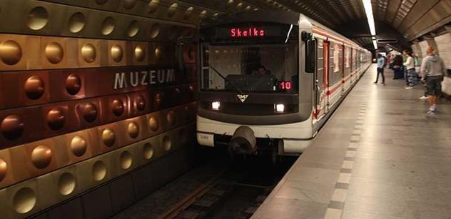 DPP: Oprava trati zastaví na devět dní provoz metra linky C v úseku Florenc – Pražského povstání