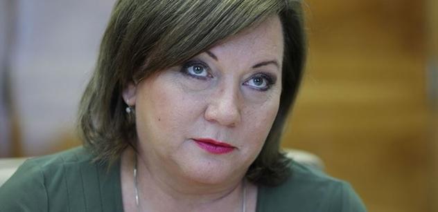 Ministryně Schillerová: Mluvil jste mi z duše, pane senátore