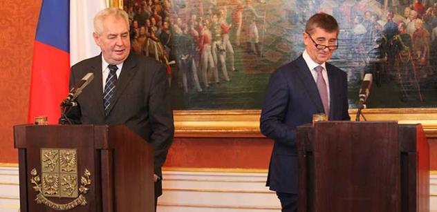 VÍME PRVNÍ Zeman Babiše podle Sobotkova návrhu neodvolá. Máme obsáhlé zdůvodnění Hradu
