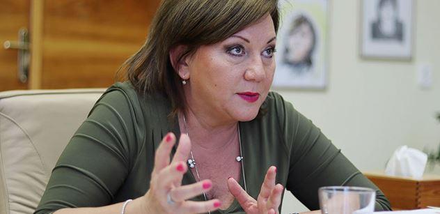 Ministryně Schillerová: Nehrozí nám tvrdý pád, veřejné finance jsou ve zdravé kondici