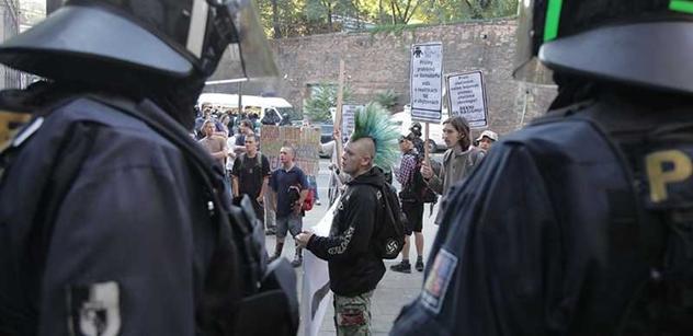 Dobytci, zmlátili i novinářku! Demonstranti z Budějovic popisují zásah policie