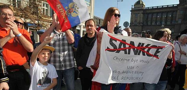 Moskva chce, aby EU ustoupila od sankcí, a slibuje reciprocitu