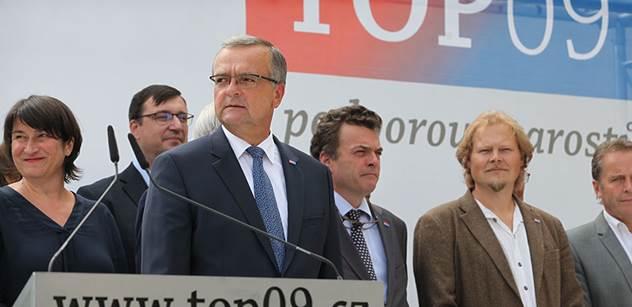 ČT: TOP 09 končí jednání o vzniku koalice ve Středočeském kraji