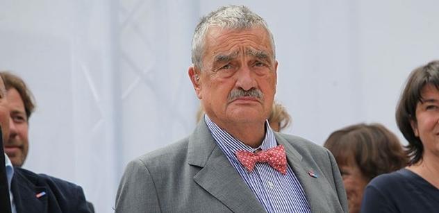Schwarzenberg: Kdokoliv bude zvolen, má moji stoprocentní podporu