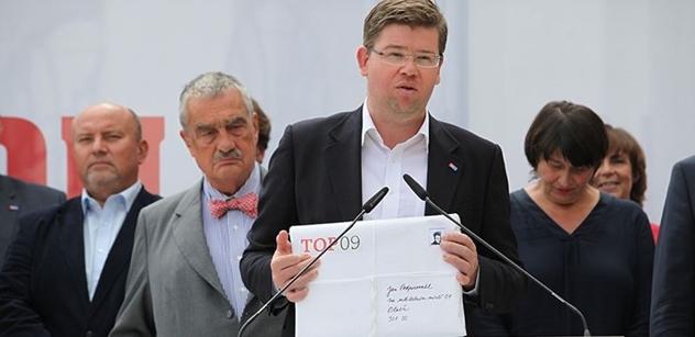 Jiří Pospíšil poodhalil, zda bude kandidovat na předsedu TOP 09. A nejen to