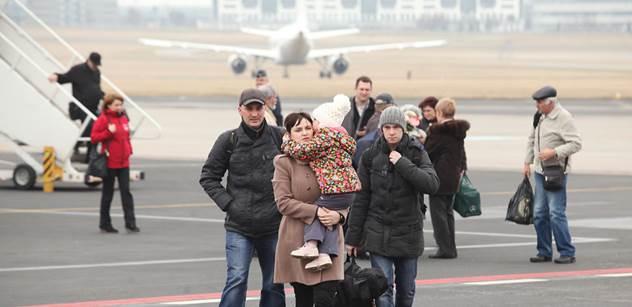 V ČR jsou další krajané z Ukrajiny, přiletěli armádním speciálem