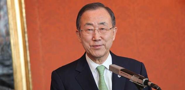 Podle šéfa OSN vyžaduje řešení migrační krize velkorysost