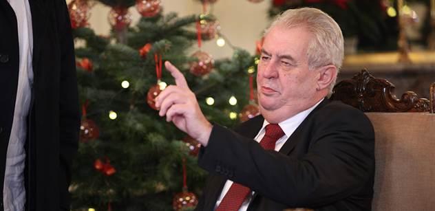 Zemanovo poselství bylo vánoční pouze podle data a chyběla mu vize, míní česká média