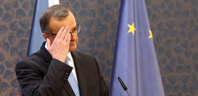 Kalousek: Modlím se za pana Torubarova