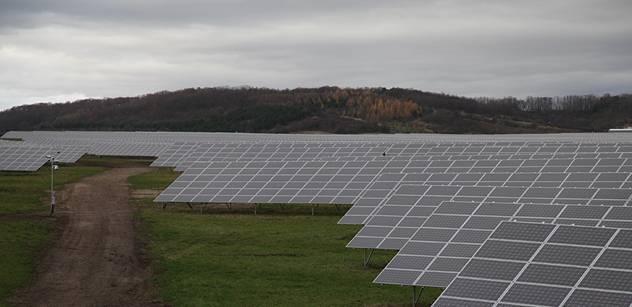 Senát schválil omezení podpory elektřiny z obnovitelných zdrojů
