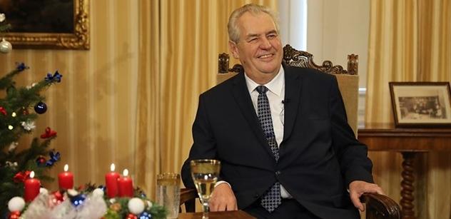 Miloš Zeman posílá vzkaz čtenářům PL. Prozradil, co chce dojednat s Trumpem, Putinem a Si Ťin-pchingem, odsoudil evropské politiky a promluvil k prezidentské volbě