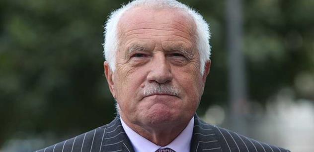 Václav Klaus: Spor o devizové regulace nesmí být ukončen