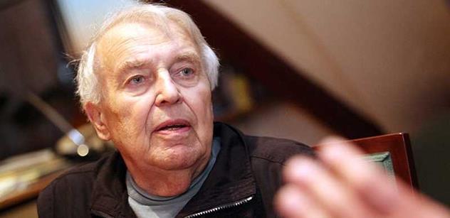 Průser mafie, vyčpělý antikomunismus. Spisovatel Pavel Kohout promlouvá k dnešní politice