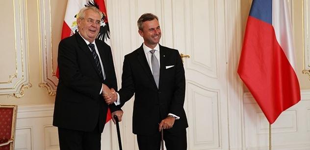 Z Rakouska: Norbert Hofer sílí. Nepořádek. Lidé se bojí Turků. Plán na spojení s Čechy. A další fakta