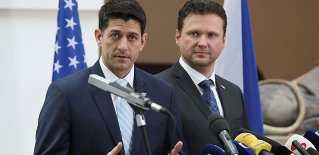 Americký kongresman v české sněmovně: Rusko nesdílí naše hodnoty. Chtějí rozdělit spojence a to nebudeme tolerovat