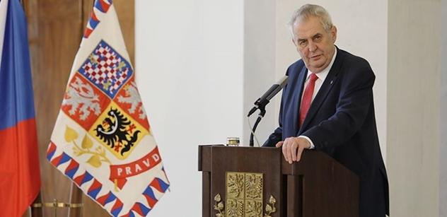 Prezident republiky zaslal kondolenční telegram švédskému králi