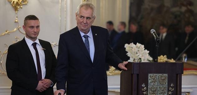 Volební kampaň stála Zemana podle jeho webu 17 milionů korun