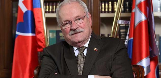 Slovenský prezident Ivan Gašparovič navštívil Institut Václava Klause
